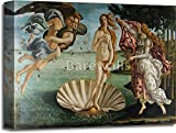The Birth Of Venus by Sandro Botticelli Gallery Wrapped Canvas Art (16in. x 20in.)