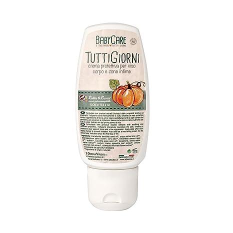 LATTE & LUNA - TuttiGiorni Baby Care - Crema Protectora Natural para Cara, Cuerpo y