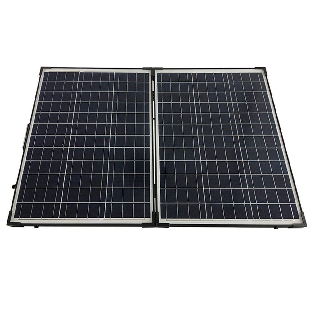 HQST 12V Polykristallin-Solarkoffer 2 x 50W (mit 20A Laderegler ...