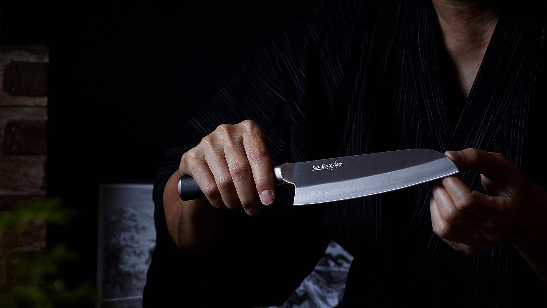 Kamikoto 7 pulgadas. Santoku cuchillo de chef: Amazon.es: Hogar