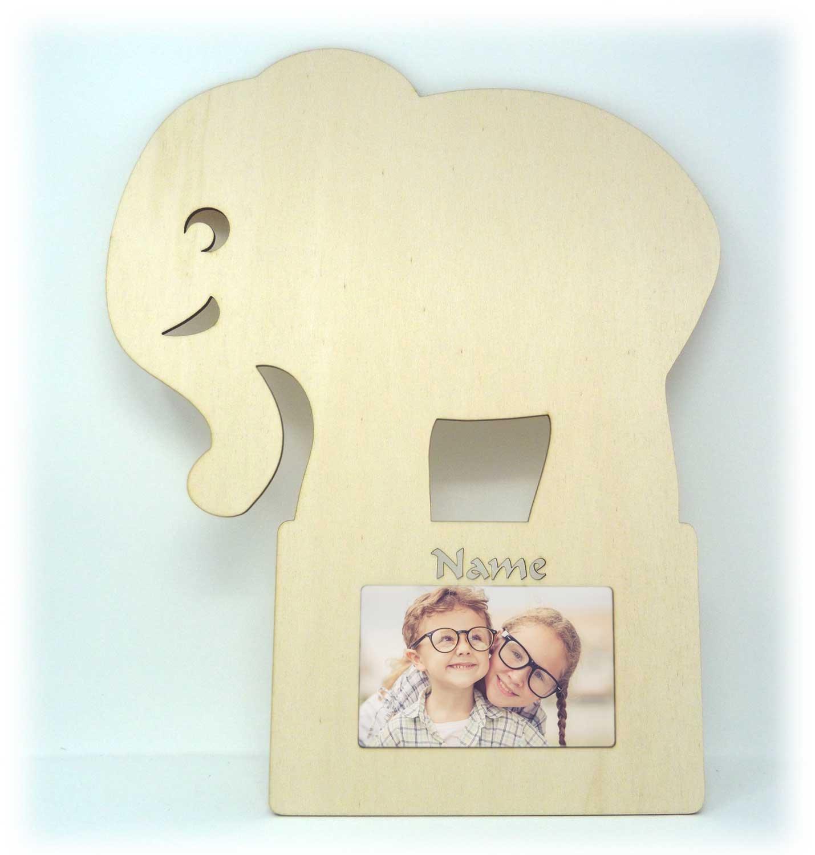 Elefant Willi Wand Bilderrahmen Geschenke für das Baby-Zimmer ...