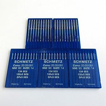 Schmetz 134 SES 135X5 Dpx5 - Agujas para máquina de coser ...