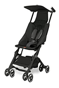 Pockit Lightweight Stroller, Monument Black