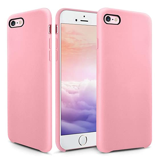 huge selection of 35da8 37b7a iPhone 6s Plus Case, OCYCLONE [Ultra-Thin Series] Liquid Silicone iPhone 6  Plus/iPhone 6s Plus Case Rubber Shockproof with Soft Microfiber Cloth ...