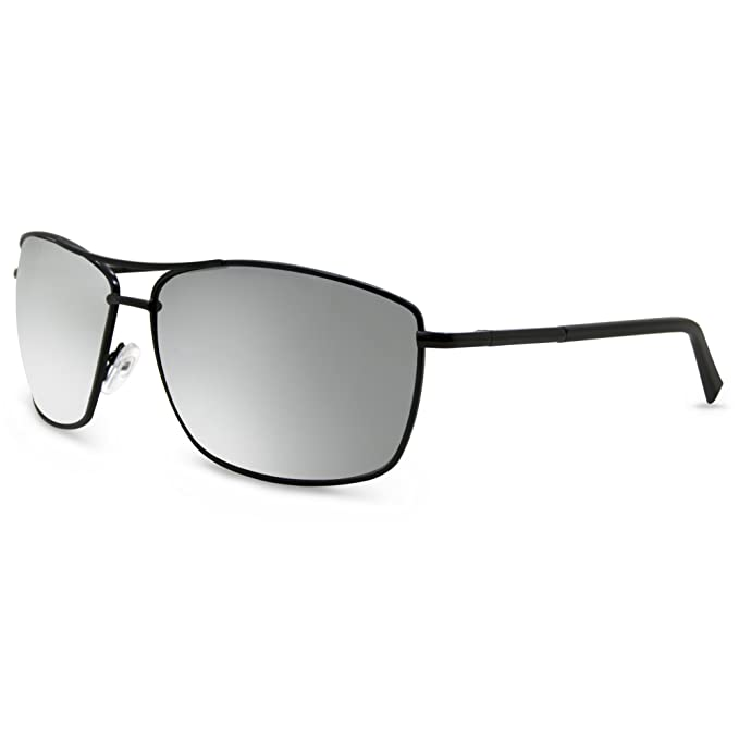be1162c74e8 Amazon.com  In Style Eyes Mirrored Bifocal Sunglass Readers Black ...