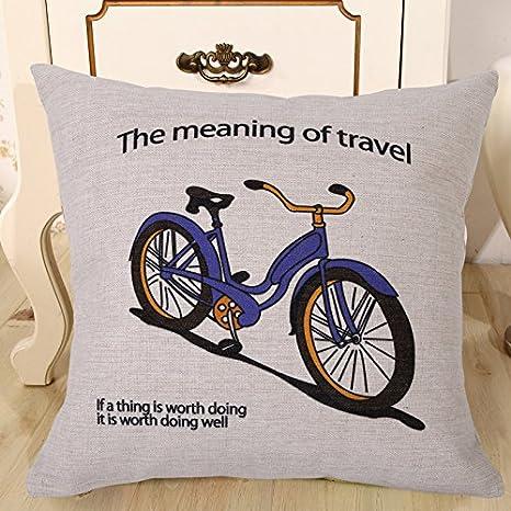 Elliot _ tejo decorativo Burlap lino y algodón manta diseño ...