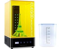 ELEGOO Wash and Cure Station, Mercury Plus 2 in 1 Washing and Curing Machine Resin Curing Station for LCD/DLP/SLA 3D Printed