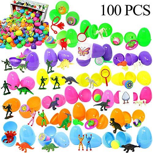 Joyin Toy 100 Pieces Toy Filled Hinged 2 3/8