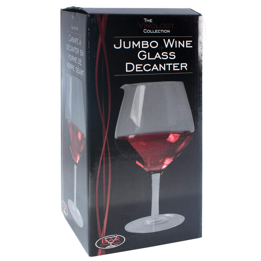 The Vinology Collection Jumbo - Decantador de copas de vino ...