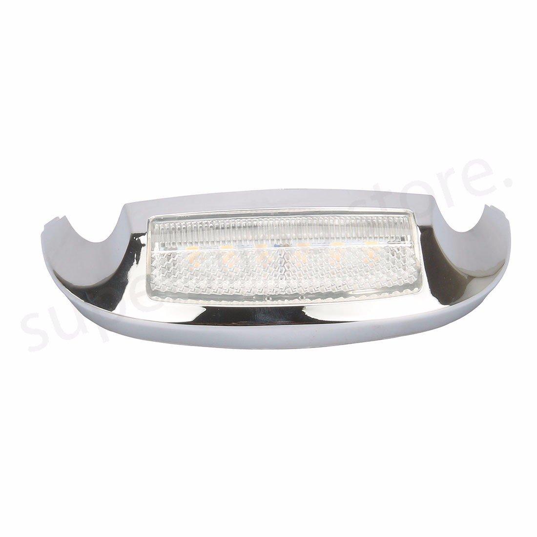 Luce per parafango glide per moto Street CLEAR Luce anteriore per LED per Harley Electra Glide Ultra Limited 2009-up