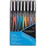 Prismacolor Premier Illustration Marker Set, Fine Tip, Assorted Colors, Set of 8
