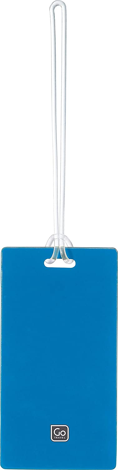 Blue 2 Tags per Pack Ref 152 Assorted Colours Go Travel Tag Me Luggage Tags