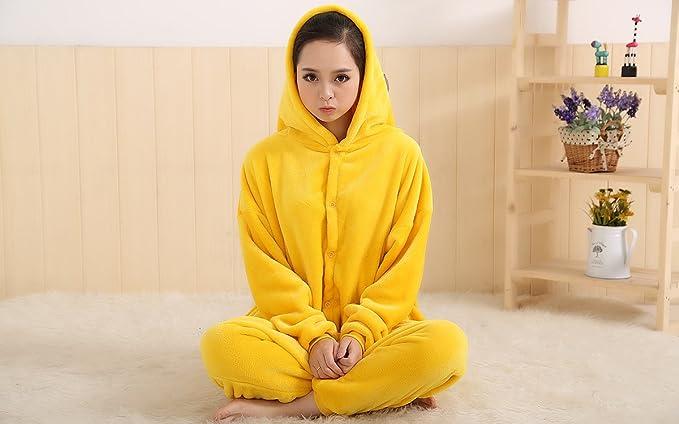 YiTao Deal Anime Pokemon Pikachu Pelele pijama disfraz ...