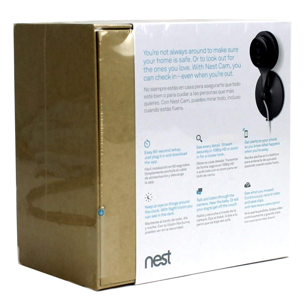 Amazon.com: Nest Cam Wi-Fi Wireless HD Indoor Video Monitoring Phone Surveillance Camera (6 Pack): Electronics