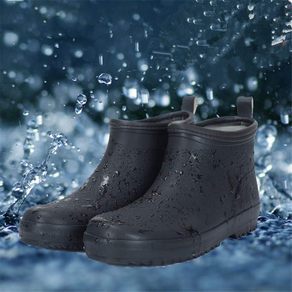 Botte de pluie jarde pluie de imperméable Wasserdichte Schuhe Herren Kurze Stiefel Wasser Schuhe Herren Damenschuhe Wasserdichte Anti-Rutsch-Frühling Und Sommer Gummischuhe 2b05f7
