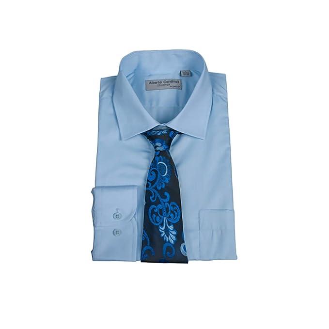 Alberto Cardinali - Conjunto de Camisa y Corbata para Hombre de ...
