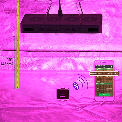 BESTVA DC Series 2000W LED Grow Light Full Spectrum Grow Lamp for...