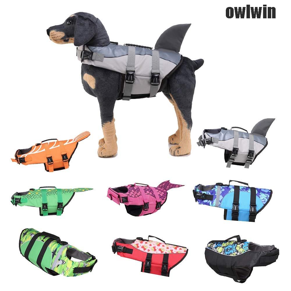 Flyingpets Life Jackets for Dogs - Dog Life Jacket - Dogs Life Jacket - Dog Pet Life Vest Dog Life Jacket Size Adjustable Dog Lifesaver Safety Reflective Vest Pet, Sport, Waterproof, Pool. by Flyingpets