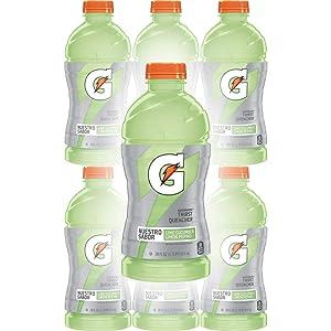 Gatorade Lime Cucumber, 28 Fl Oz Bottles (Pack of 6, Total of 168 Oz)