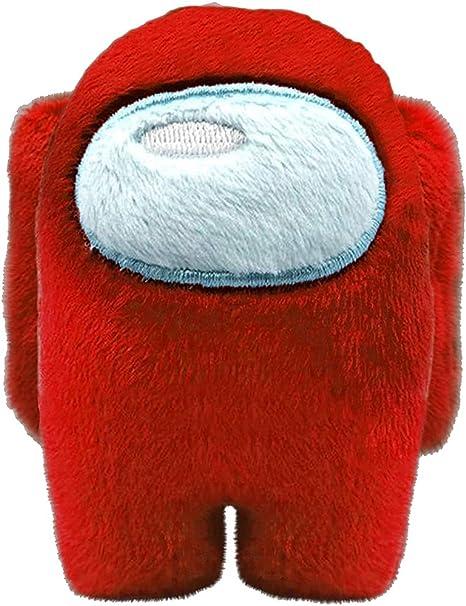RecontraMago Among Us Peluche Grande Gioco Super Morbido Felpa Gioco per bambino ROSSA 20CM Giocattoli bambole Peluche Gadget Ultimo Modello Originale