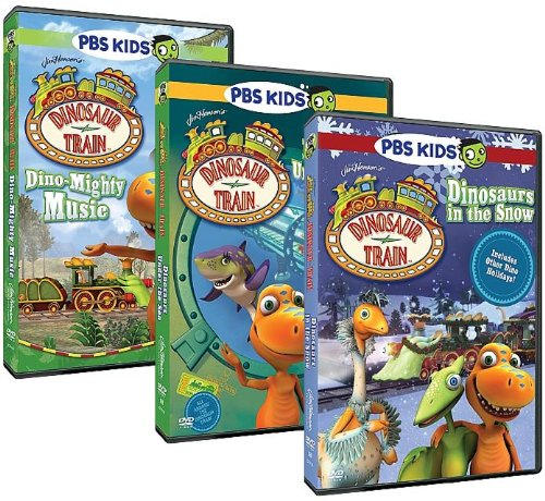 Dinosaur Train: 3-DVD Collection (Dino-Mighty Music/Dinosaurs Under the Sea/Dinosaurs in the Snow) Jim Henson's The Christmas Toy