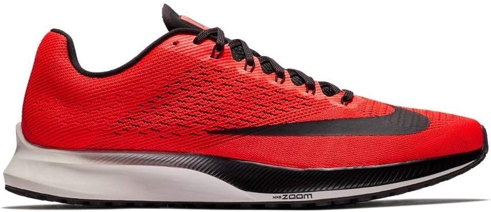 Nike Air Zoom Elite 10, Zapatillas de Running para Hombre, Multicolor (Bright Crimson/Oil Grey/Phantom 600), 40.5 EU: Amazon.es: Zapatos y complementos