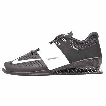 new style bc2c0 f8662 Nike WMNS Romaleos 3 – Chaussures d haltérophilie, Femme, Noir – (Black