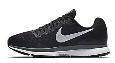 best sneakers d7b3b 0ba1a Image Unavailable. Image not available for. Color  Nike Women s Air Zoom  Pegasus 34 Black White Dark ...