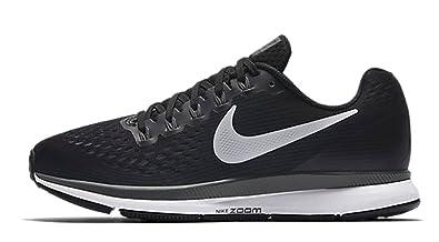 new product c244a c02fd Nike Women's Air Zoom Pegasus 34 Black/White/Dark Grey/Anthracite Running  10.5