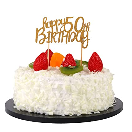 Image Unavailable Not Available For Color Sunny ZX Happy 50th Birthday Cake