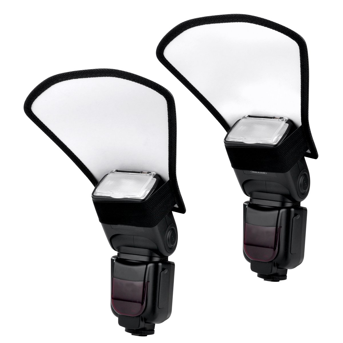 Veatree Flash Diffuser Reflector Kit Bend Bounce Positionable ...