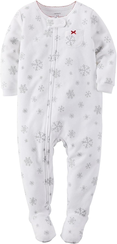 24 Months Snowman Carters Baby Girls Footie