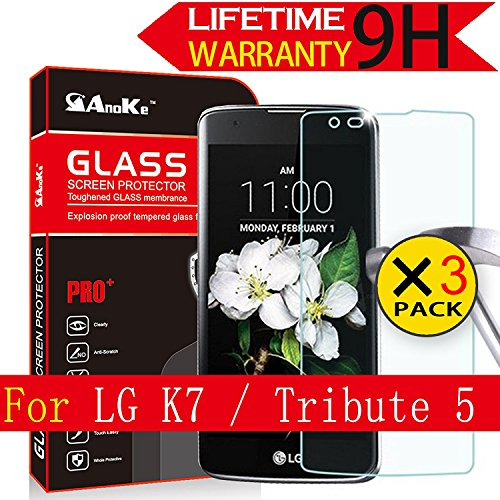 Tempered Glass Screen Protector for LG K7 - 5