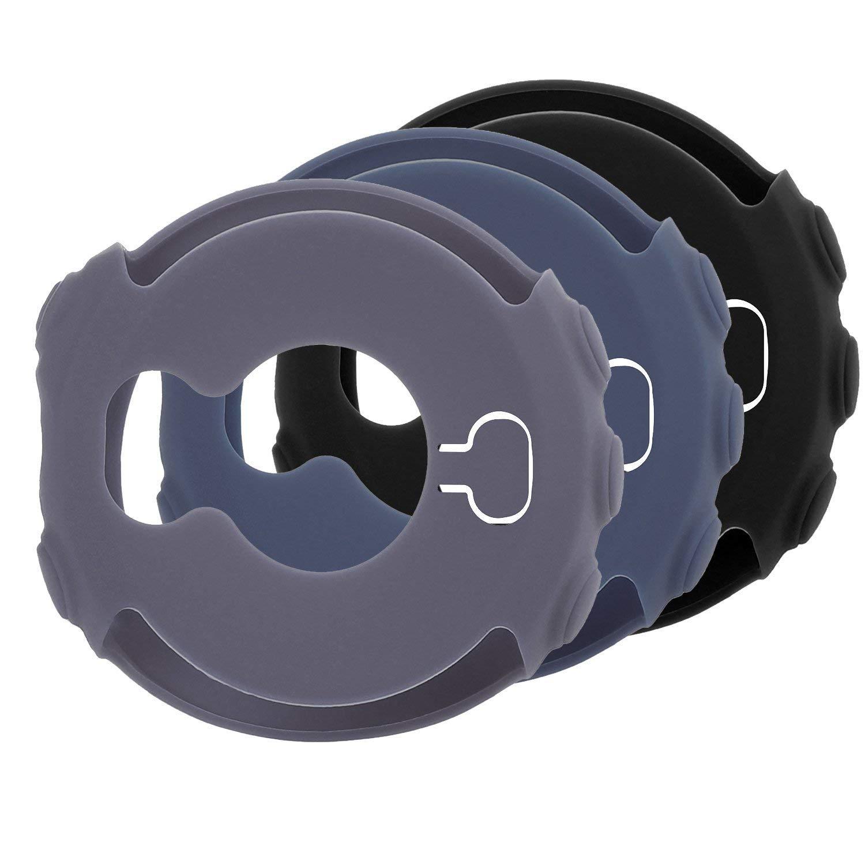 Mwoot Lot de 3 Coques pour Garmin Fenix 5X et Garmin Fenix 5X Plus, Anti-Rayures Housses (É tuis) Noir/Bleu/Rouge - Pas pour Garmin Fenix 5 (Plus) et 5S (Plus) Anti-Rayures Housses (Étuis) Noir/Bleu/Rouge - Pas pour Garmin Fenix 5 (Plus) et 5S (Plus