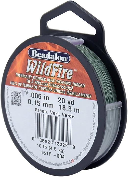 Beadalon Wildfire Beading Thread many colours /& sizes