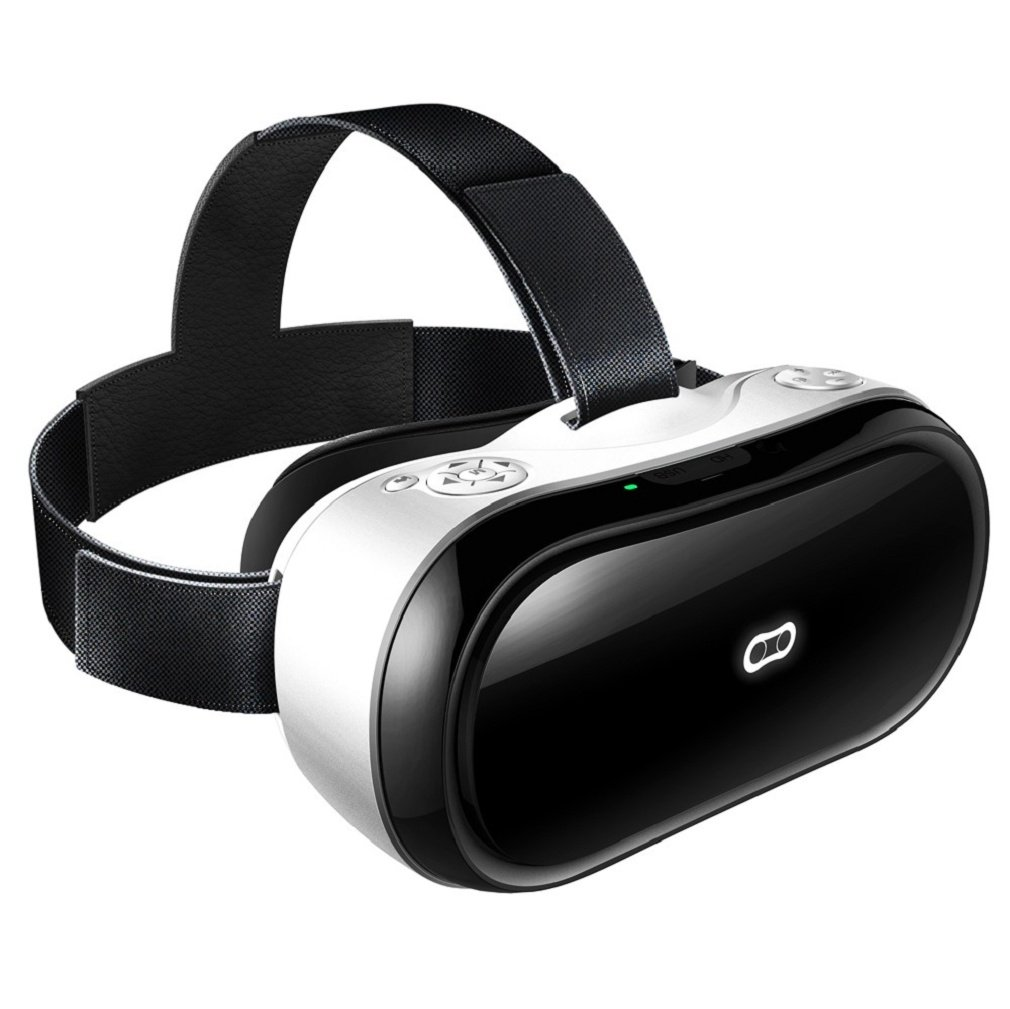 GBSELL 3D VR Glasses Headset Magicsee M1 All in One Virtual Reality Headset with 1080p WIFI Android 5.1 HDMI IN Higher FPS 2G/16G