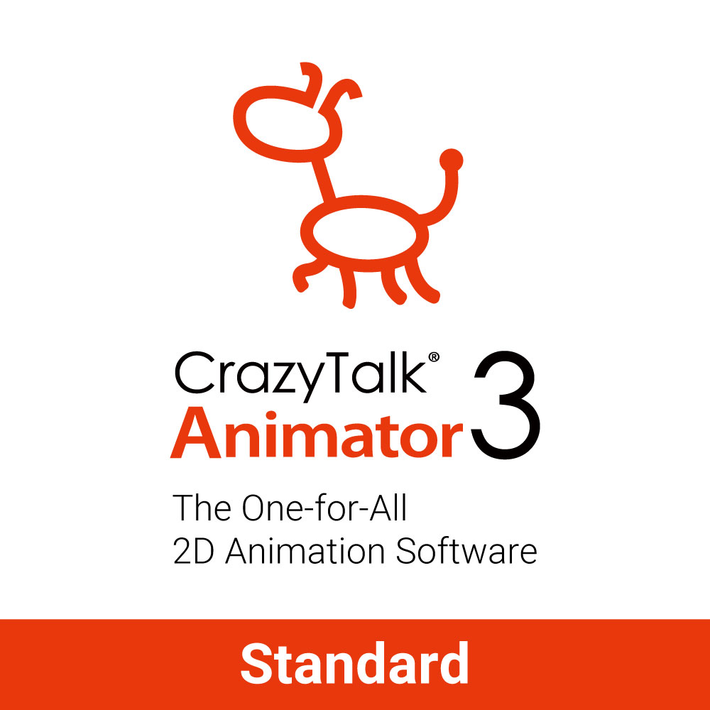 CrazyTalk Animator 3 Standard (PC) [Download] by Reallusion