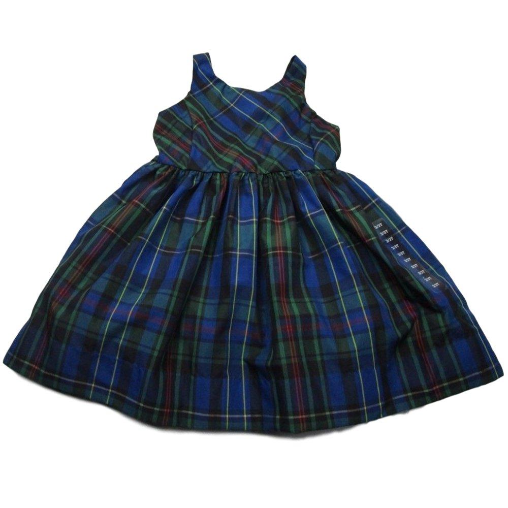 e86f19e32 Amazon.com: Polo Ralph Lauren Baby Girls Plaid Holiday Dress (3/3T):  Clothing