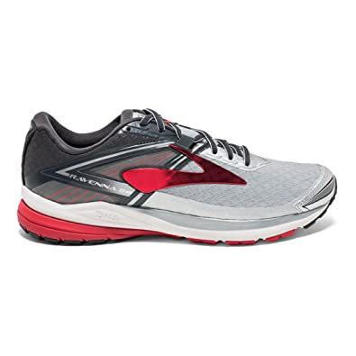 7b5e331b56296 Brooks Men s Ravenna 8 Silver Anthracite High Risk Red 14 D US   Amazon.co.uk  Shoes   Bags