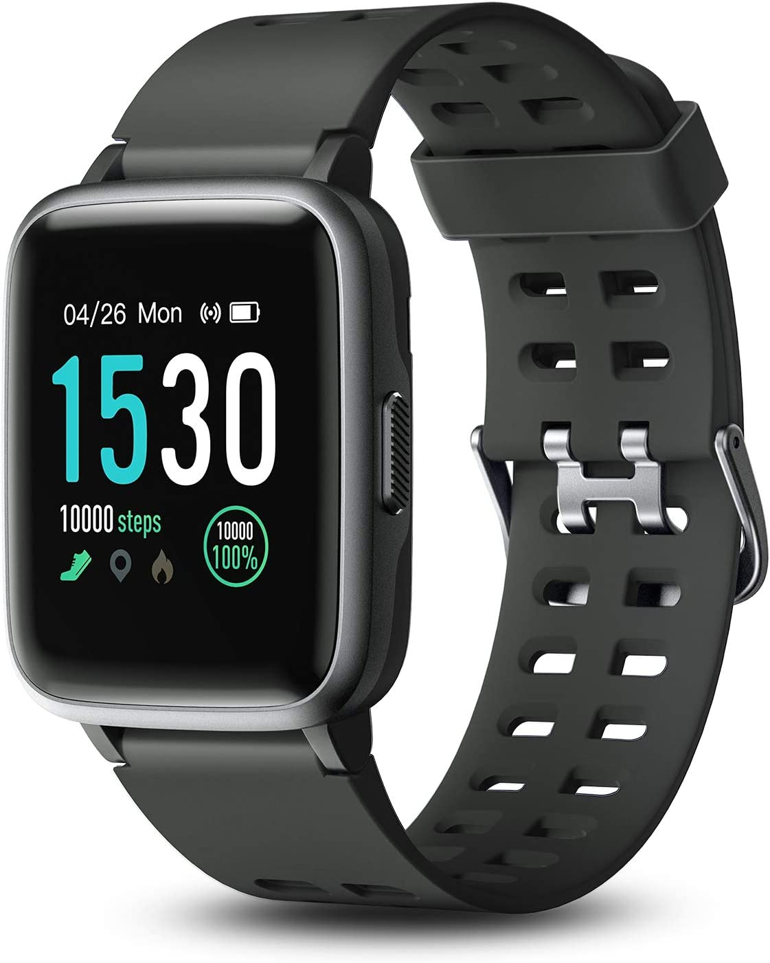 Letsfit Smart Watch, 1.3'' Color Touchscreen Fitness TrackeR