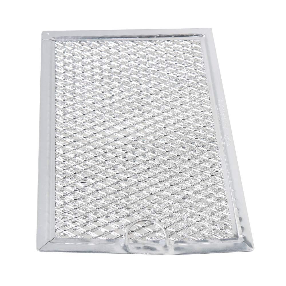 Yibuy 5.03x7.59x0.09 inch WB06X10654 Microwave Range Grease Mesh Range Filter