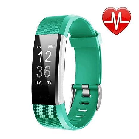 Amazon.com: Reloj de fitness pulsera inteligente resistente ...