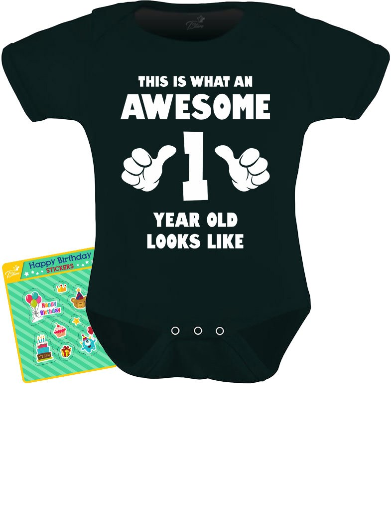 TeeStars - This is What an Awesome One Year Old