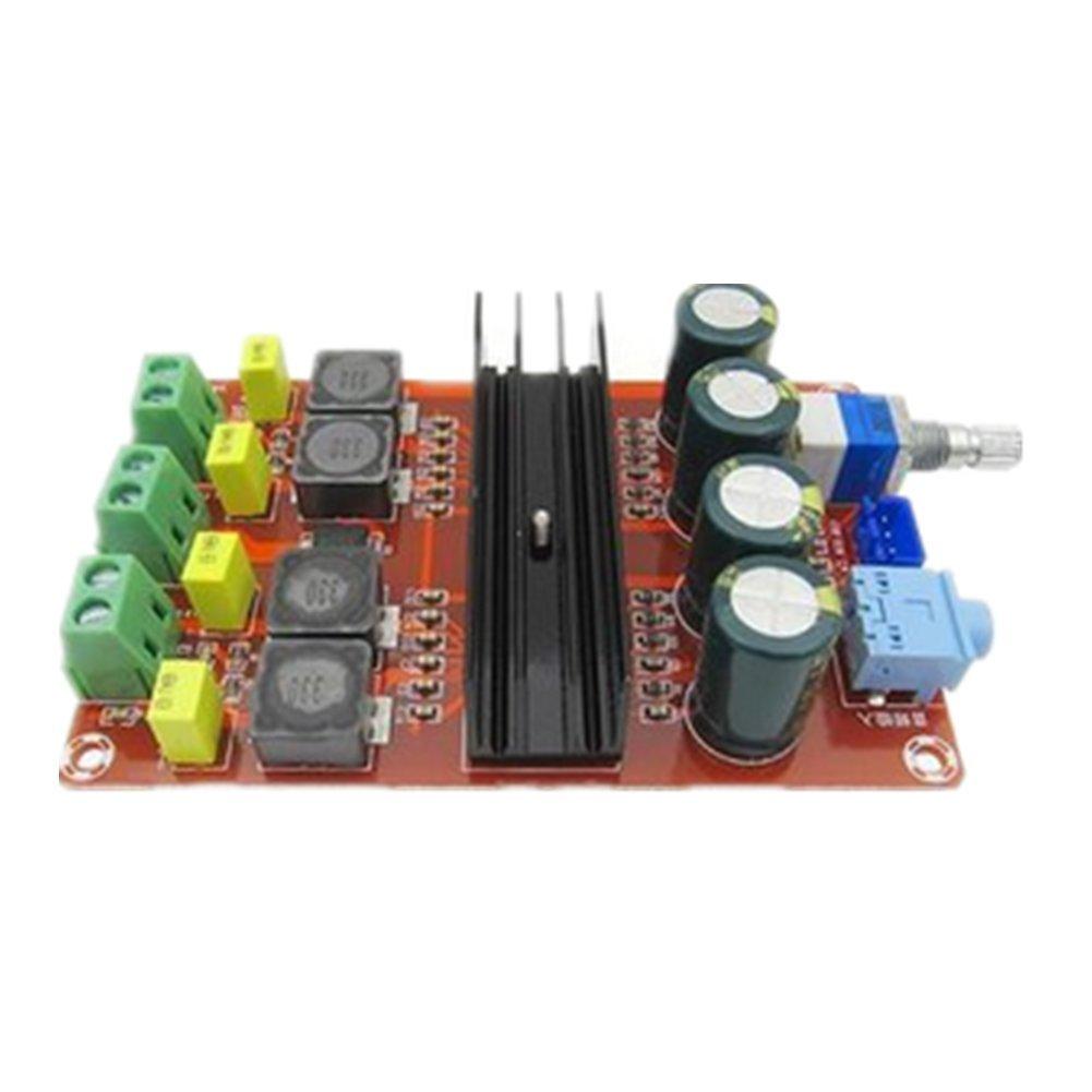 Demarkt TPA3116D2 2 x 100W Digital-Verstä rkerplatine 12V-24V breite Spannungs binaural Verstä rkerplatine Leistungsverstä rkermodul