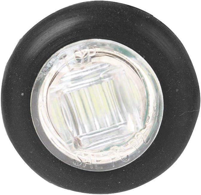 WildAuto 10 Pcs Side Marker Lights Waterproof Marker Lights for Truck Trailer(3//4Inch,Blue)
