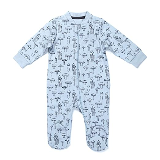 9a89655b380d Amazon.com  Baby Boys Girls Romper Infant Onesie Long Sleeve ...