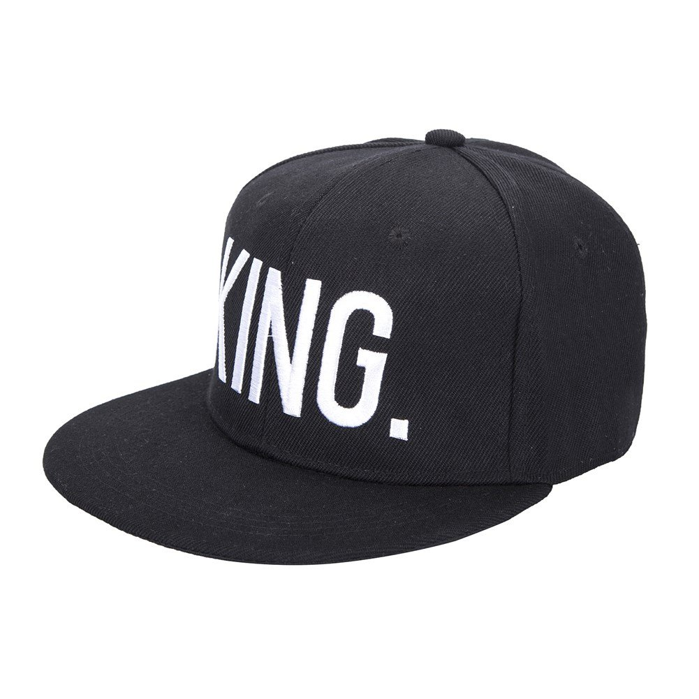KING and QUEEN Lovers Couples Snapback Caps Adjustable Hip-Hop Hats Fashion Pairs Hat