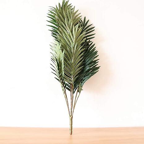 Amazon Com Easinflo Large 70 Cm Artificial Phoenix Bamboo Palm Plant Tree Bonsai Green Plants Wedding Home Office Shop Decor Home Kitchen