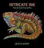 2018 Intricate Ink: The Art of Tim Jeffs Wall Calendar