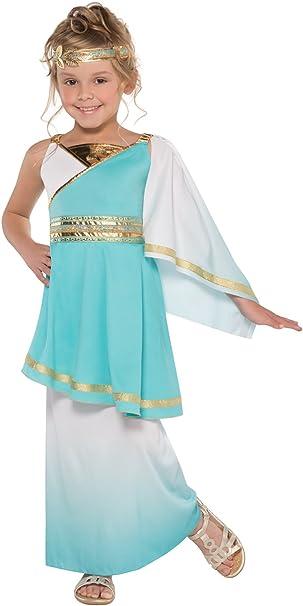 amscan Infantil Venus Diosa Griega Niña Romano Princesa Disfraz ...